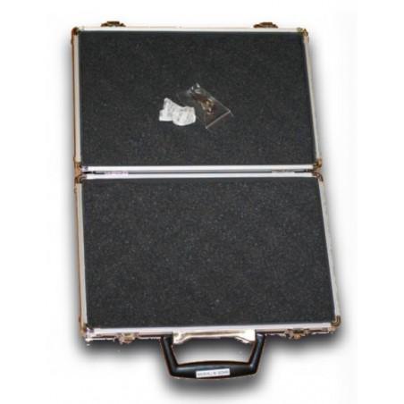 Mallette aluminium de luxe 28 x 18,50 x 5,6cm