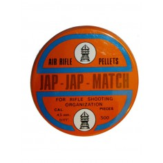 Plomb jap jap match 4,5 mm 500 pieces