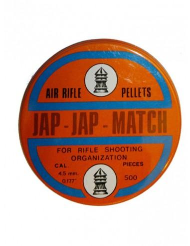Plomb jap jap match 4,5 mm 500 pieces