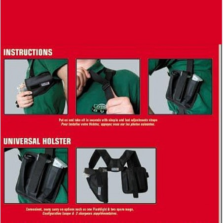 Holster d'épaule horizontal Swiss Arms