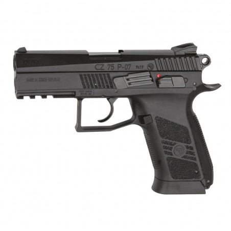 CZ 75 P 07 duty GNB culasse metal CO2 4,5 mm