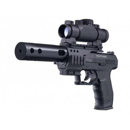 cp99 nighthawk lunette+rail+ silencieux (livré en malette)