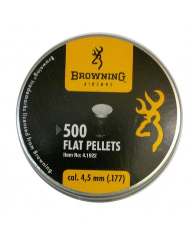Plomb Browning flat high quality 4,5 mm 500 pieces