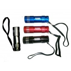 Lampe Flashlight aluminium 9 leds Swiss Arms
