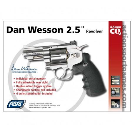 Dan Wesson noir 2,5'' GNB 3j CO2 4,5mm