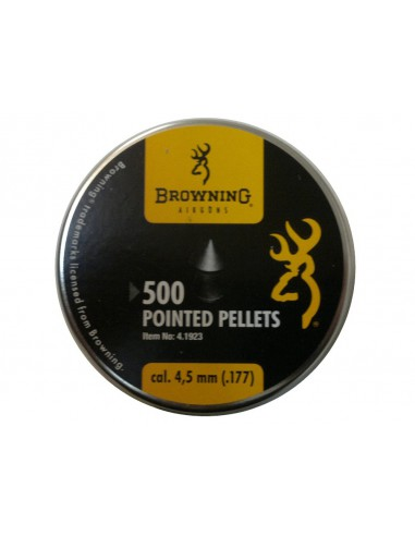 Plomb Browning pointed high quality 4,5 mm 500 pieces