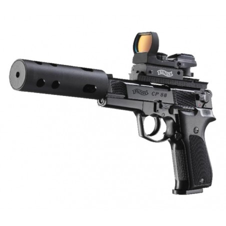 CP88-4 tactical walther +silencieux CO2 4,5mm