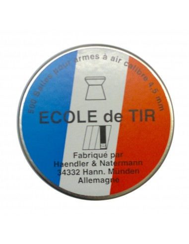 500 plombs precision Ecole de tir 4.5 mm