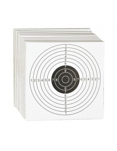 Cibles 14X14 cm cartons par 100 pieces