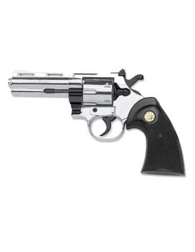Revolver Python 357 cal 9 mm chromé kimar