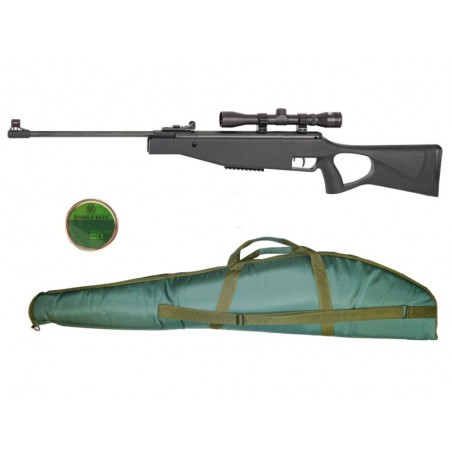 Pack Mauser SR break barrel tactical 4,5 plomb 10 J + housse
