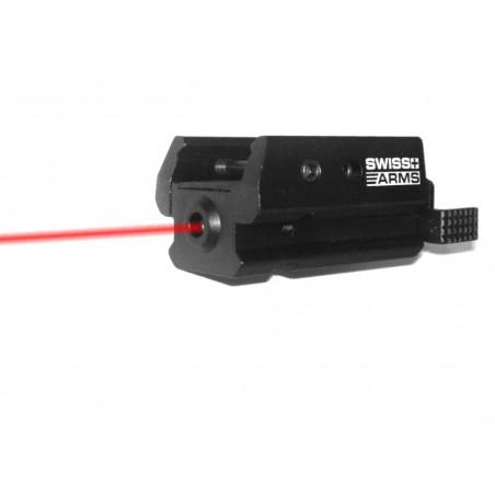 Laser micro Swiss Arms pour rail picatinny
