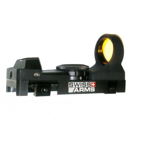 Visée point rouge Swiss Arms luminosité reglable