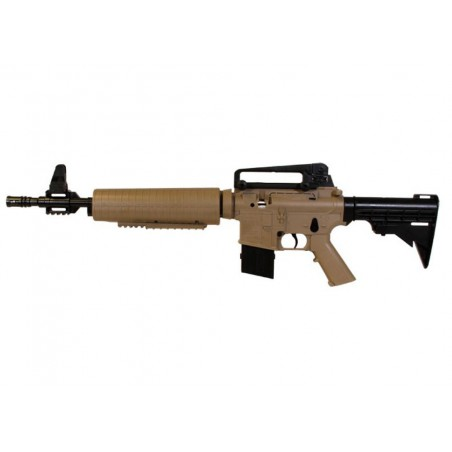 M4-177 Tactical Carbine Tan Air Rifle 4,5 mm