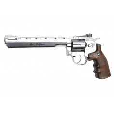 Dan Wesson Chromé 8'' High Power GNB 3j CO2 4,5mm