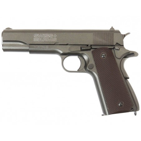 P1911 Swiss Arms KWC full metal Blowback CO2 4,5mm