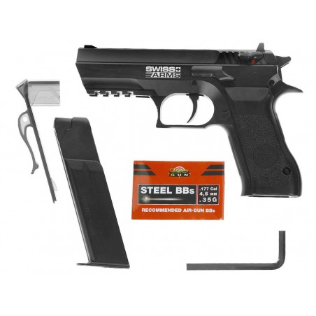 Jericho SA 941 Swiss Arms CO2 4,5 mm 3 j