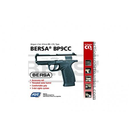 Bersa BP9CC Dual Tone Metal Slide Blowback MS CO2 4,5 mm