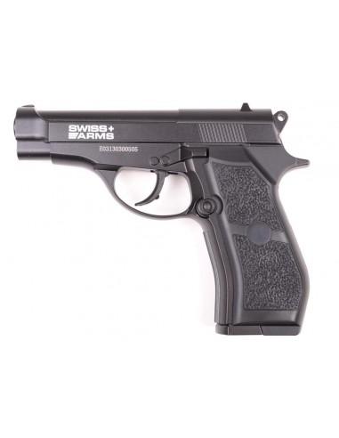 P84 Swiss Arms full metal semi auto CO2 4,5 mm billes acier
