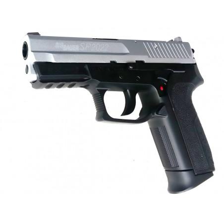 SIG SAUER SP2022 Silver metal slide powerfull version 4,5mm billes acier