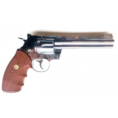 Colt Python 357 Magnum 6 Pouces Chrome GNB CO2 4,5mm