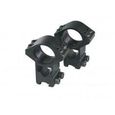Anneaux de montage haut pour carabine plomb 25,4X20X11 mm