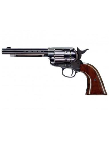 Colt Pacificateur Simple Action Acier Bronzé CO2 4,5mm