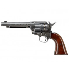 Colt Pacificateur Simple Action Acier Antique CO2 4,5mm