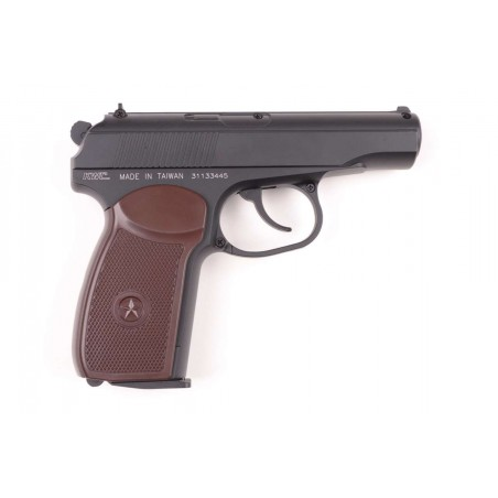 Makarov Full Metal Semi Auto Heavy Weight KWC CO2 4,5mm