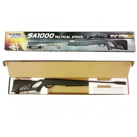 Carabine SA1200 Swiss Arms Scope 4X32 plomb 5,5 mm 20 J
