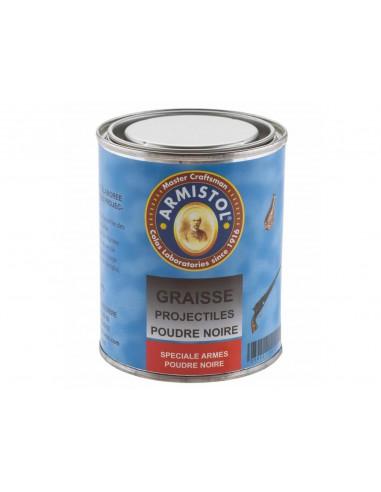 Graisse Projectiles 250 ml Poudre Noire