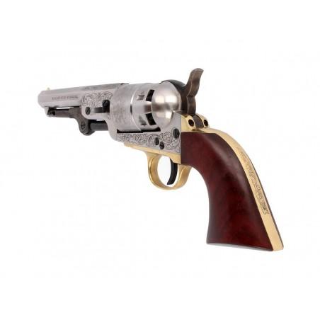 Revolver 1858 Remington Acier Poudre Noire CAL 44