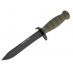 Couteau de Combat Task OD Green Fourreau Rétention