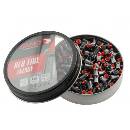 Plomb Red Fire Expansif Gamo 4,5 mm 125 pieces