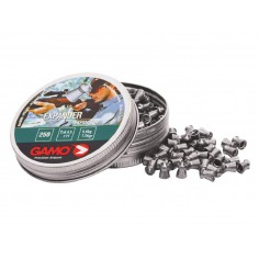 Plomb Pro Expander Tete Pointue Gamo 4,5 mm 250 pieces