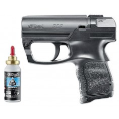 Walther PDP Noir avec Spray Detectable UV