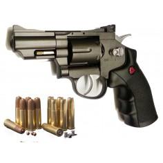 Python SNR 357 Magnum 2,5 Pouces Crosman 4,5mm BBS et Plomb
