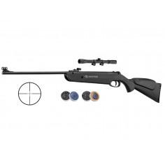 Pack Carabine Beeman QB22 + 2 Boites de 500 Plombs + Lunette 4X20 à air comprimé 10 J