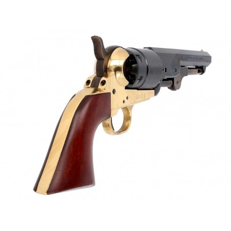 Revolver 1851 Navy Rebnord Sheriff Deluxe Poudre Noire CAL 44