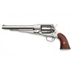 Revolver 1858 Remington Nickelé Poudre Noire CAL 44