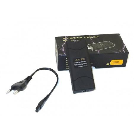 Shocker KL 800 Type II 5000 000 volts Lampe Tazer Housse