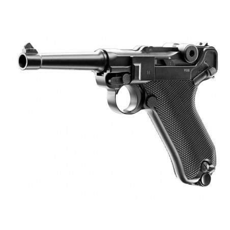Luger P08 Full Metal Blowback Umarex CO2 4.5mm Billes acier 2,8 J