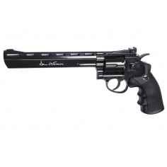 Dan Wesson 8'' Black Canon Rayé CO2 4,5mm plomb 3,5 J