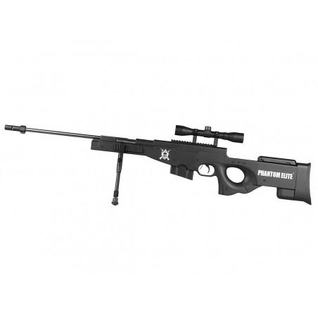 Sniper L115-B Phantom Elite NP Scope 4X32 et Bipied plomb 4,5 mm 20 J