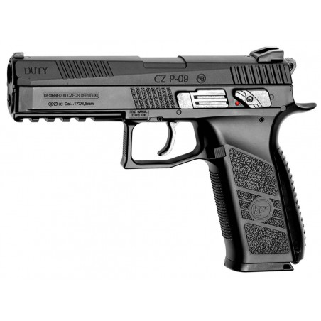 CZ 75 P-09 Culasse Mobile Metal  3,9 J CO2 4,5mm Plomb et BBS
