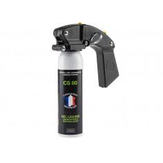 Bombe de defense impact Pro Gel CS 100 ml avec Poignée