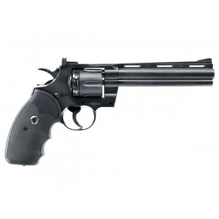 "Revolver 6 ""  Colt Python 357 magnum CO2 4,5mm Billes acier et Plomb"