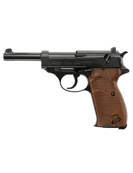 Walther P38 full metal Blowback CO2 4,5 mm billes acier