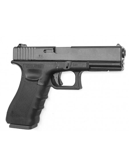 Glock 17 Gen 4 Full Metal Blowback 4,5 mm CO2 Billes Acier