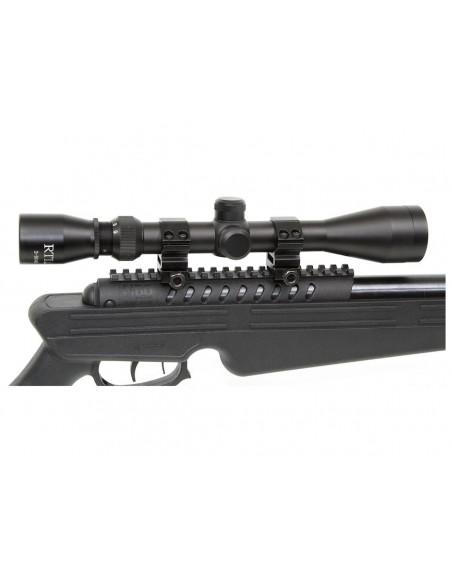 Carabine Quantico Black Ops Lunette 4X32 plomb 4,5 mm 20 J